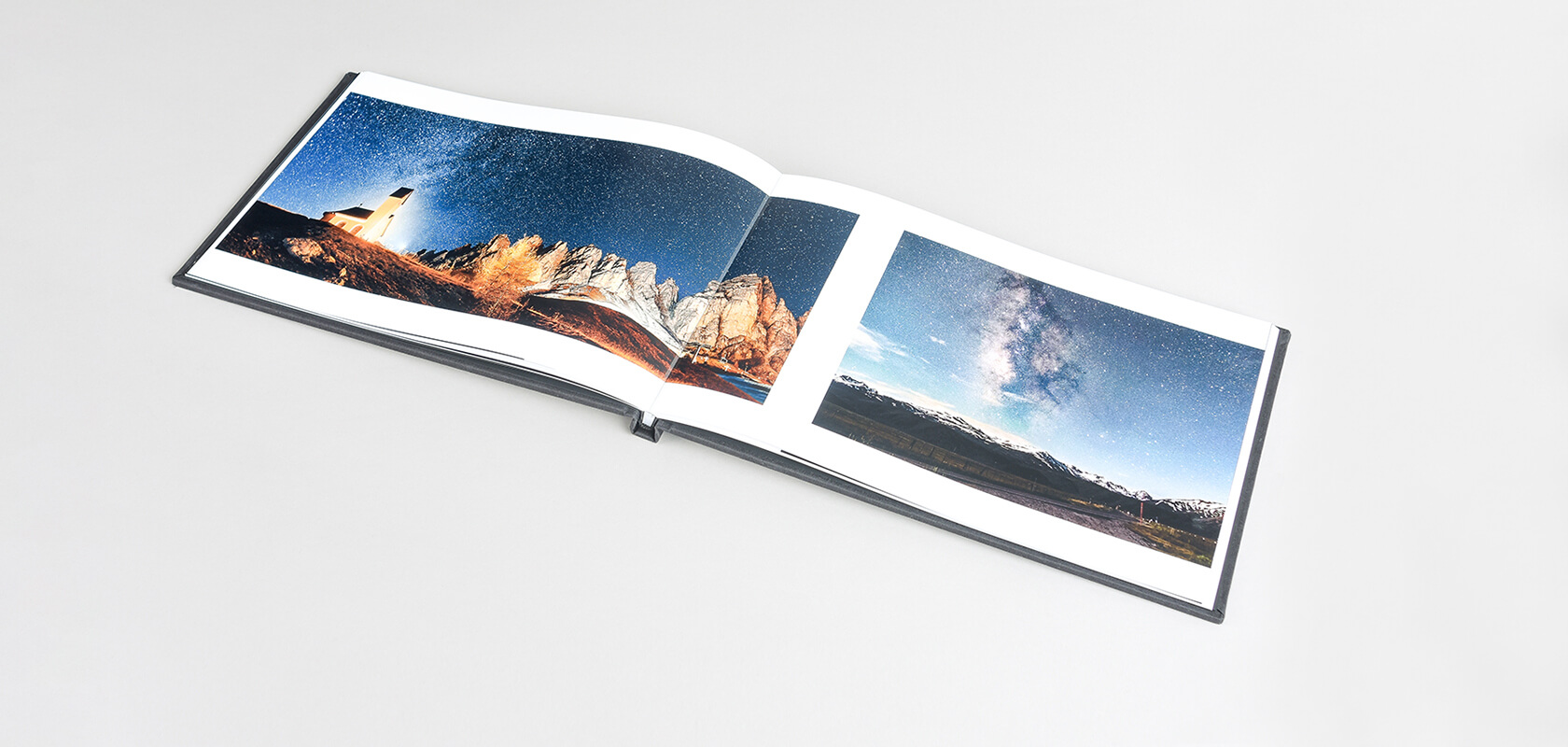 Panoramic page layout